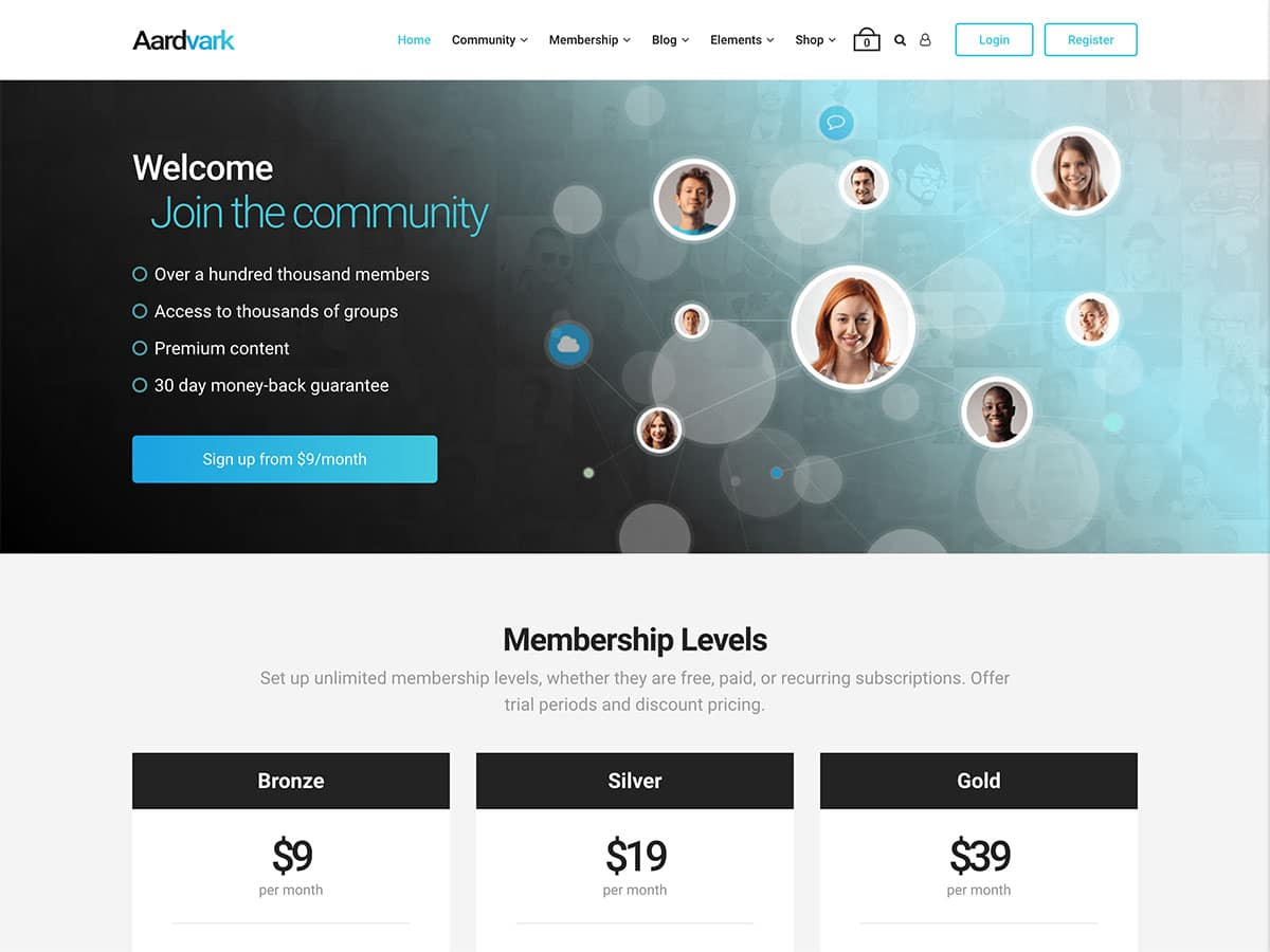 Community Building websites