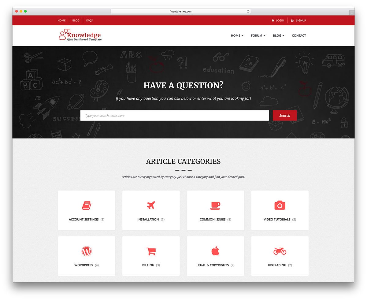 Knowledge Sharing Websites