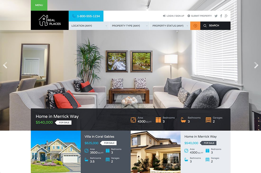 Realestate Services Portal