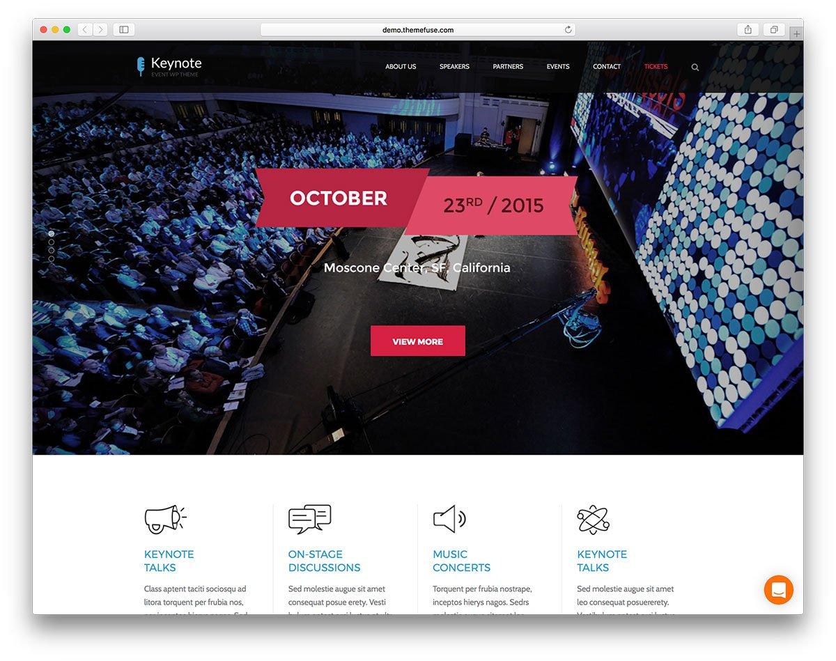 Event Websites